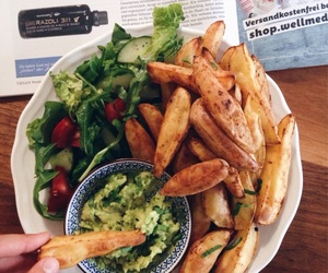 food, healthy, and potato image
