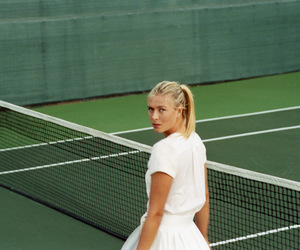 tennis and sharapova image