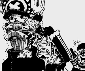 one piece, manga, and luffy image