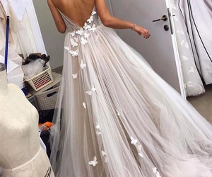 dope, dress, and long image