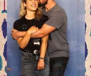 arrow, Felicity, and flash image