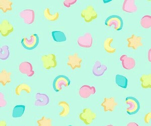 candy, rainbow, and wallpaper image