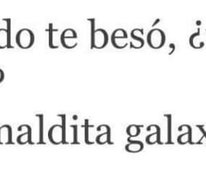 love, frases, and galaxia image