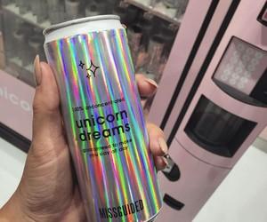 drink, girl, and nail image