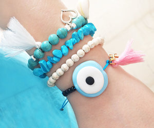 etsy, evil eye, and fashion image