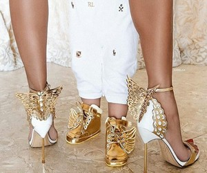Angel Wings, high heels, and shoes image