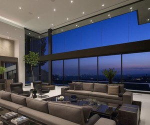 house, luxury, and view image