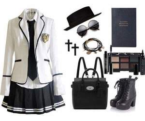 kawaii, outfits, and school image
