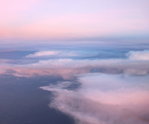 clouds, Flying, and sky image