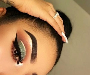 beauty, makeup, and eyemakeup image