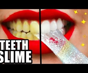 diy, slime, and teeth image