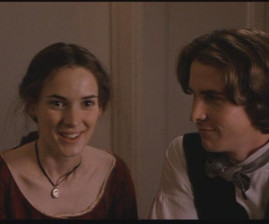 christian bale, little women, and love image