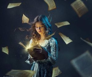 books, fairy tale, and story image