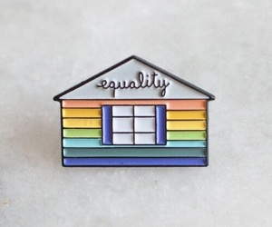 equality, gay, and pins image