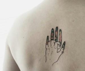 tattoo, art, and hand image