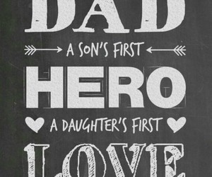 daddy, father, and love image