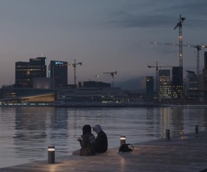 yle, couple, and skam image