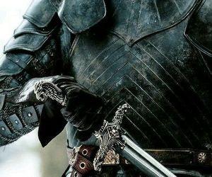 fantasy, knight, and sword image