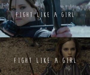 harry potter, hermione granger, and hunger games image