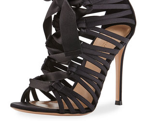 black, luxury, and gianvito rossi image