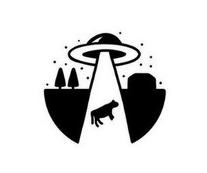 alien, phone, and space image