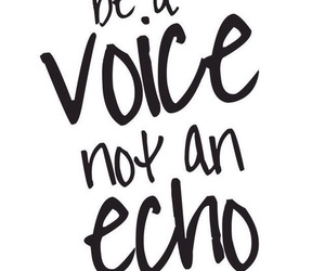 quotes, echo, and voice image