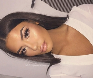 eyebrows, art, and contour image