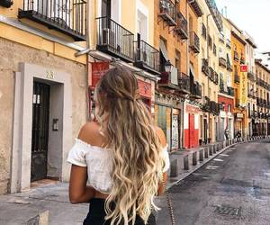 hair, fashion, and city image