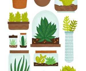 plants, draw, and art image