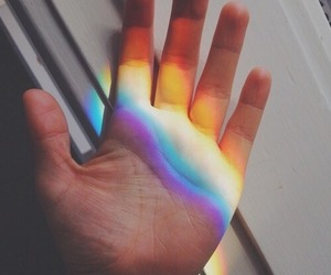 alternative, rainbow, and aesthetic image