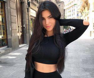 brunette, hair, and svetlana bilyalova image