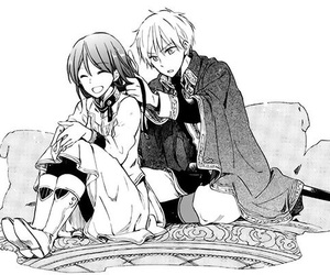manga, shirayuki, and akagami no shirayukihime image
