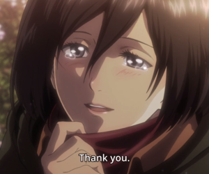 anime, snk, and mikasa ackerman image