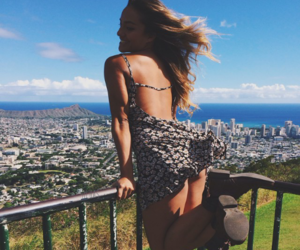 adventure, blonde hair, and fashion image