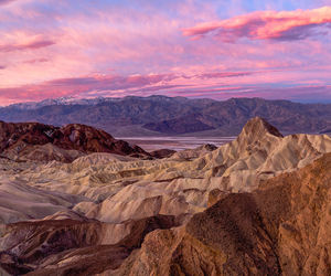 clouds, death valley, and sky image
