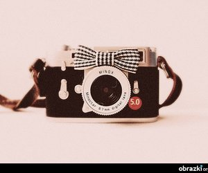 camera, photography, and bow image