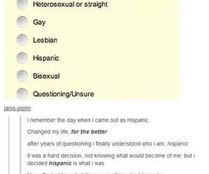 funny, hispanic, and tumblr image