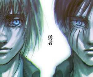 shingeki no kyojin, attack on titan, and art image