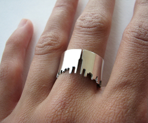 ring, fashion, and new york image