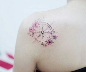 flowers, like, and tatto image