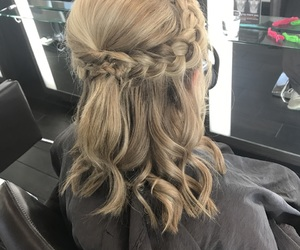 blond, blonde, and braids image