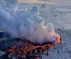 nature, place, and volcano image