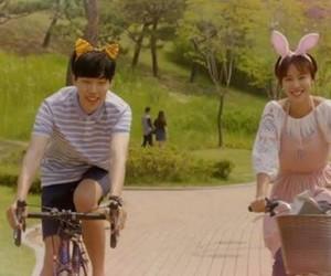 korean and lucky romance image