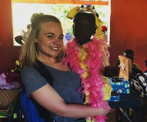 blonde, mission, and haitians image