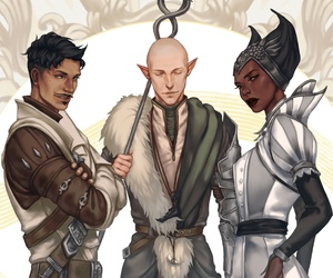 game, vivienne, and dragon age image