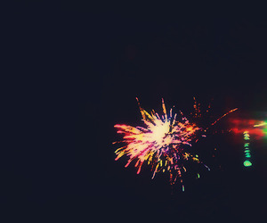 color, fireworks, and sky image