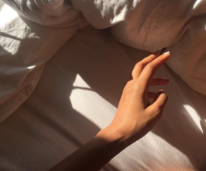 pale, skin, and sunlight image