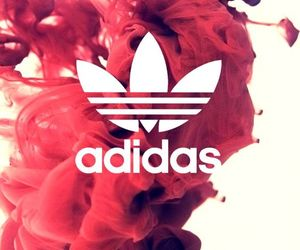 adidas, wallpaper, and red image