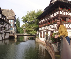 europe, river, and Strasbourg image