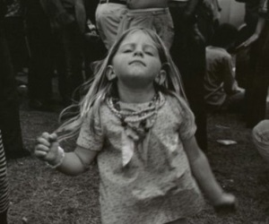 dance, black and white, and hippie image